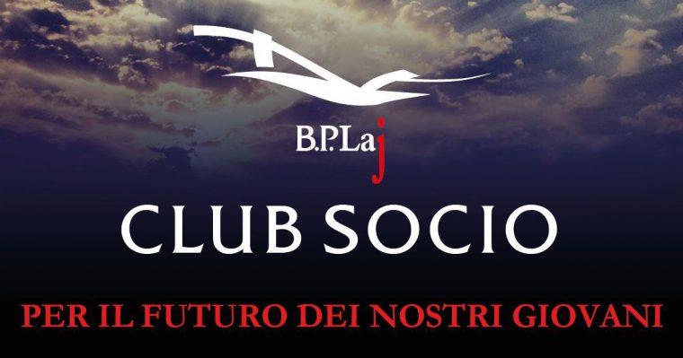 Club Socio BPLaj: Per il futuro dei nostri giovani
