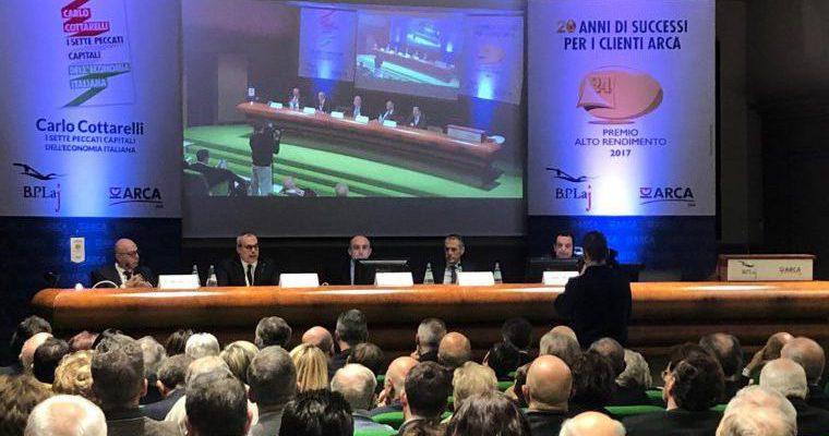 BPLaj: grande partecipazione per Carlo Cottarelli