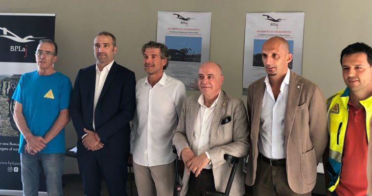 """BPLaj: """"titolo di solidarietà"""" per il Monte Pisano"""